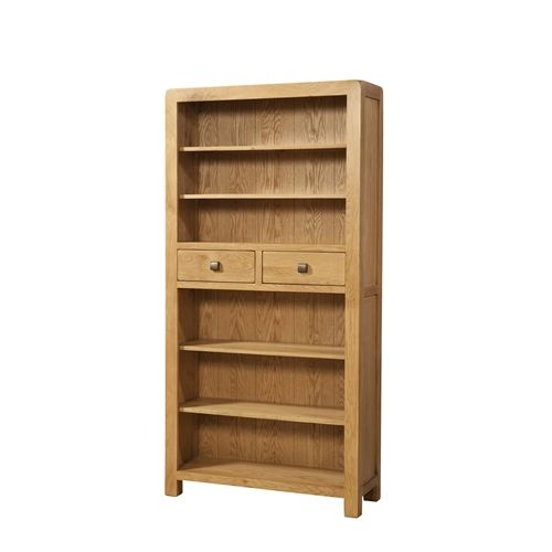 Eaton TALL BOOKCASE WITH 2 DRAWERS