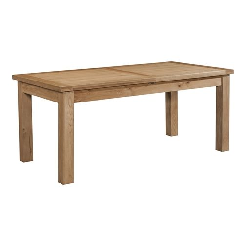 Elworth DINING TABLE WITH 2 EXTENSIONS 132-198 X 90